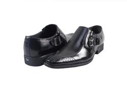 Ảnh số 17: Giày tây lười Zatoli khóa màu đen (XQ-09) - Giá: 599.000