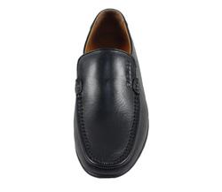 Ảnh số 19: Giày lười da trơn mũi tròn màu đen (XQ-07) - Giá: 599.000