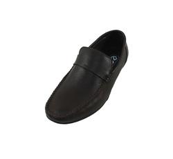 Ảnh số 29: Giày lười da trơn quai ngang màu nâu (XQ-06) - Giá: 599.000