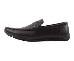 Ảnh số 30: Giày lười da trơn quai ngang màu nâu (XQ-06) - Giá: 599.000