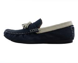 Ảnh số 33: Giày lười nam Zatoli da lộn chuông màu xanh (6491) - Giá: 699.000
