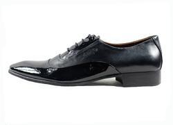 Ảnh số 35: Giày tây nam Zatoli mũi bóng màu đen (Q-06) - Giá: 599.000