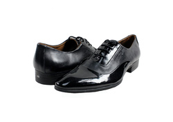 Ảnh số 36: Giày tây nam Zatoli mũi bóng màu đen (Q-06) - Giá: 599.000
