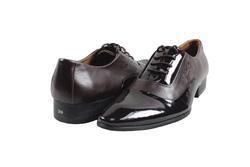 Ảnh số 39: Giày tây nam Zatoli mũi bóng màu nâu (Q-06) - Giá: 599.000