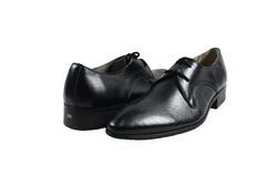 Ảnh số 41: Giày tây nam Zatoli buộc dây mũi nhọn màu đen (Q-04) - Giá: 599.000