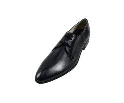 Ảnh số 42: Giày tây nam Zatoli buộc dây mũi nhọn màu đen (Q-04) - Giá: 599.000