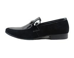 Ảnh số 56: Giày lười nam Sanvado da bóng đế đen màu đen (KT-303) - Giá: 649.000