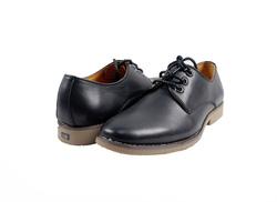 Ảnh số 58: Giày nam da trơn màu đen (270) - Giá: 799.000
