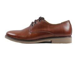Ảnh số 64: Giày nam da trơn màu nâu đỏ (270) - Giá: 799.000
