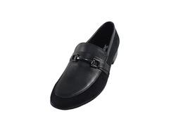 Ảnh số 66: Giày da nam Sanvado quai kim loại màu đen (KT-303) - Giá: 649.000