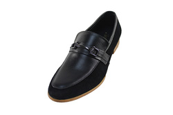 Ảnh số 72: Giày nam Sanvado lười pha da lộn màu đen (KT-303) - Giá: 649.000