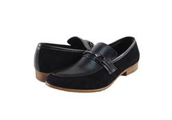 Ảnh số 73: Giày nam Sanvado lười pha da lộn màu đen (KT-303) - Giá: 649.000