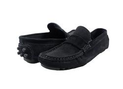 Ảnh số 80: Giày mọi nam Valentino Creations da lộn màu đen (7512) - Giá: 799.000