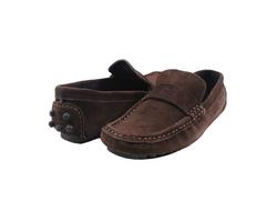 Ảnh số 84: Giày mọi nam Valentino Creations da lộn màu nâu (7512) - Giá: 799.000