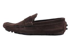 Ảnh số 85: Giày mọi nam Valentino Creations da lộn màu nâu (7512) - Giá: 799.000
