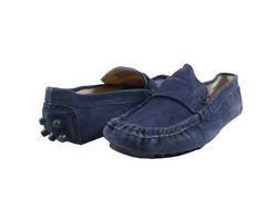 Ảnh số 87: Giày mọi nam Valentino Creations da lộn màu xanh (7512) - Giá: 799.000