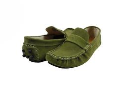 Ảnh số 90: Giày mọi nam Valentino Creations da lộn màu xanh rêu (7512) - Giá: 799.000