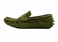 Ảnh số 91: Giày mọi nam Valentino Creations da lộn màu xanh rêu (7512) - Giá: 799.000