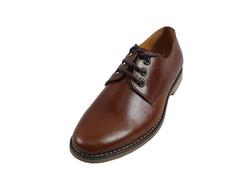 Ảnh số 4: Giày nam da trơn màu nâu đỏ (270) - Giá: 799.000