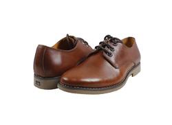 Ảnh số 5: Giày nam da trơn màu nâu đỏ (270) - Giá: 799.000