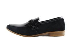 Ảnh số 10: Giày lười nam Sanvado da bóng màu đen (KT-303) - Giá: 649.000