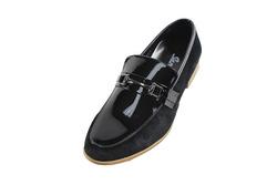 Ảnh số 11: Giày lười nam Sanvado da bóng màu đen (KT-303) - Giá: 649.000