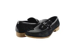 Ảnh số 12: Giày lười nam Sanvado da bóng màu đen (KT-303) - Giá: 649.000