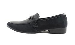 Ảnh số 19: Giày da nam Sanvado quai kim loại màu đen (KT-303) - Giá: 649.000