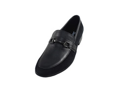 Ảnh số 20: Giày da nam Sanvado quai kim loại màu đen (KT-303) - Giá: 649.000