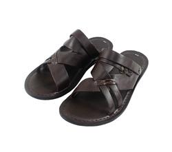 Ảnh số 36: Sandal nam quai da màu nâu (FA-8705) - Giá: 399.000