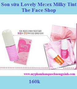 Ảnh số 12: Son sữa Lovely MEEX Milky Tint The Face Shop - Giá: 160.000
