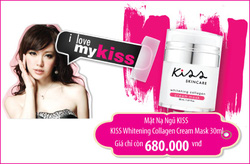 Ảnh số 98: KISS Whitening Collagen Cream Mask 30ml - Giá: 680.000