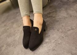 Ảnh số 87: Giày cao gót loafer logo thánh giá - Giá: 150.000