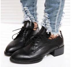 Ảnh số 72: Giày Oxford mũi nhọn OF16 - Giá: 240.000