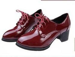 Ảnh số 42: Giày Oxford da bóng mũi nhọn OF15 - Giá: 240.000