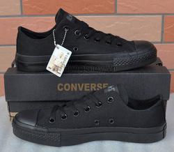 Ảnh số 54: Converse đen full - Giá: 350.000