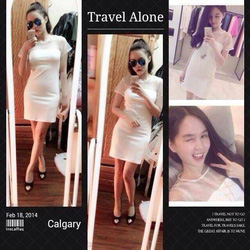Ảnh số 39: váy ôm trắng pha lưới bóng giá:280k. - Giá: 280.000