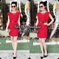 Ảnh số 96: váy tay hến bồng có màu đỏ, xanh coban ,trắng.giá:280 - Giá: 280.000