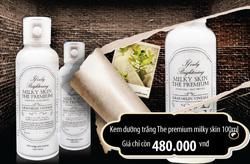 Ảnh số 58: The premium milky skin 100ml - Giá: 480.000