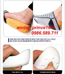 Ảnh số 43: Lót giầy tăng chiều cao - Giá: 75.000