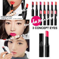 Ảnh số 55: SON 3 CONCEPT EYES CREAMY LIP COLOR (HÀNG CHÍNH HÃNG KOREA) - Giá: 250.000