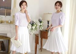 Ảnh số 88: SM923: Ivory, Light Pink, Light Purple, Black/ F - Áo sơ mi nữ Hàn Quốc - Giá: 1.120.000