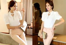 Ảnh số 76: SM931: White, Pink/ S, M - Áo sơ mi nữ công sở Hàn Quốc - Giá: 1.320.000