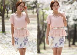 Ảnh số 75: SM932: Peach Pink/ S, M - Áo nữ Hàn Quốc - Giá: 1.490.000