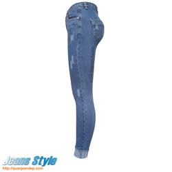 Ảnh số 7: Quần jean nữ cạp cao D&G 3306 - Giá: 360.000