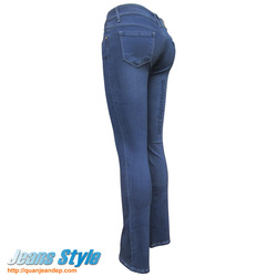 Ảnh số 17: Quần jean nữ ống vẩy MNG 780 - Giá: 420.000
