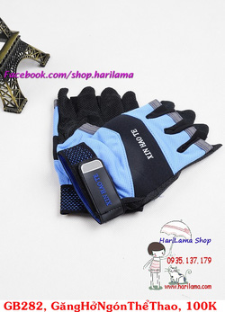 Ảnh số 29: Găng tay nam hở ngón, găng tay thể thao nam, găng tay tập thể hình, găng tay chống nắng cho nam - Giá: 100.000
