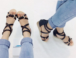 Ảnh số 40: Giàyy sandals dây đôi -220k giảm còn 180k - Giá: 180.000