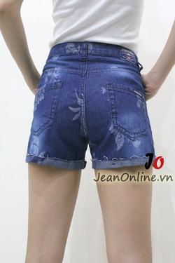 Ảnh số 6: Short jean nữ rách - M6055. Size 1, 3, 5, 7 - Giá: 195.000
