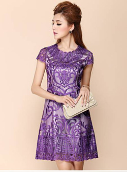Ảnh số 3: Váy ren dự tiệc LADYROY-17/814 - Giá: 520.000